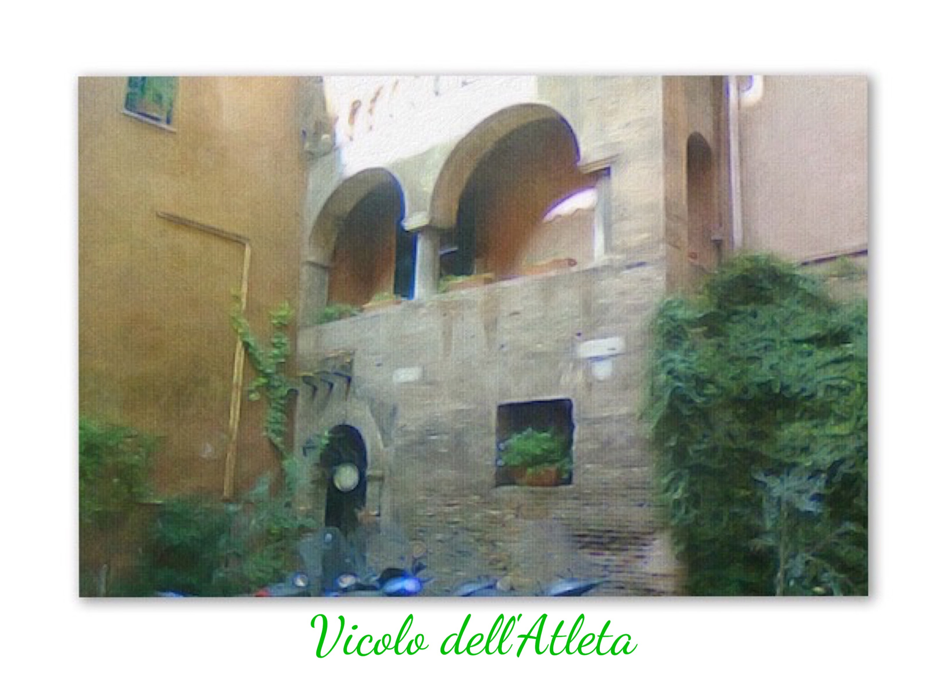Vicolo dell'Atleta, Roma