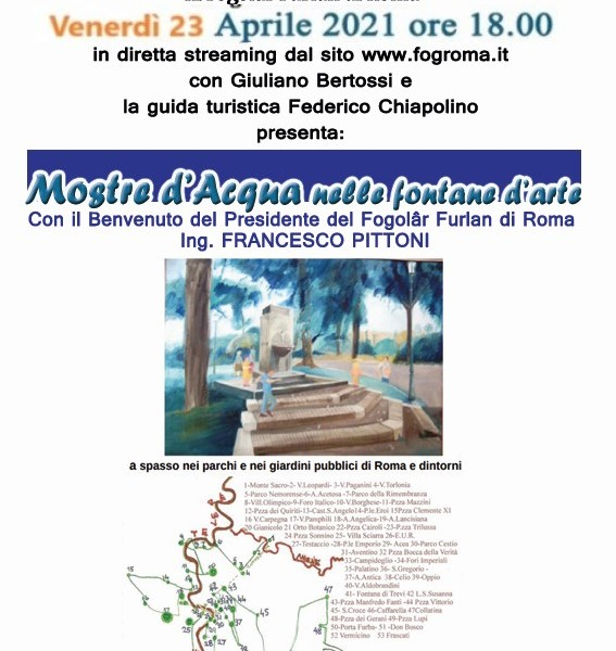 VIDEO VISITA SULLE FONTANE D'ARTE_locandina